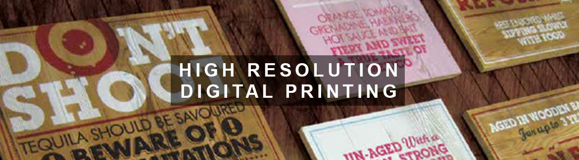 High Resolution Digital Printing