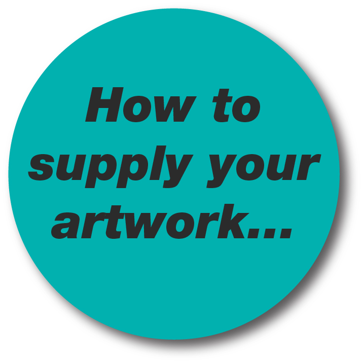 How to supply your artwork